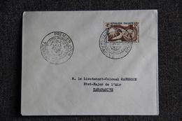 MADAGASCAR - Enveloppe 1er Jour, TANANARIVE, Déclaration Universelle Des Droits De L'Homme, 1958 - Madagascar (1889-1960)