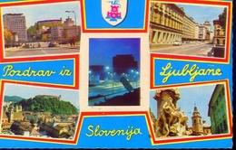 Pozdrav Iz Ljubljame - Slovenija - Formato Grande Viaggiata Mancante Di Affrancatura – E 9 - Jugoslavia