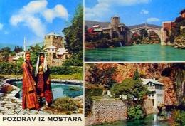 Pozdrav Iz Mostara - Formato Grande Viaggiata Mancante Di Affrancatura – E 9 - Jugoslavia