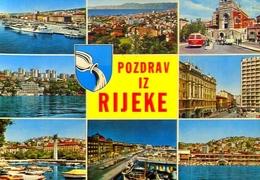 Pozdrav Iz Rijeke - Formato Grande Viaggiata Mancante Di Affrancatura – E 9 - Jugoslavia