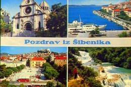 Pozdrav Iz Sibenika - Formato Grande Viaggiata Mancante Di Affrancatura – E 9 - Jugoslavia