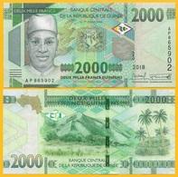 Guinea 2000 Francs P-new 2108 / 2019 UNC Banknote - Guinée
