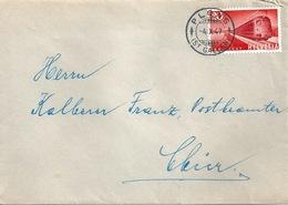 Brief  Plons (St.Gallen) - Chur              1947 - Covers & Documents