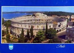 Pula - Arena - Formato Grande Viaggiata Mancante Di Affrancatura – E 9 - Jugoslavia