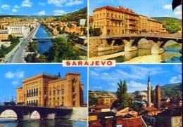 Sarajevo - 2022 - Formato Grande Viaggiata Mancante Di Affrancatura – E 9 - Jugoslavia