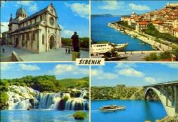 Sibenik - Formato Grande Viaggiata Mancante Di Affrancatura – E 9 - Jugoslavia