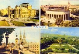 Zagreb - 5 - Formato Grande Viaggiata – E 9 - Jugoslavia