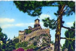 Repubblica Di San Marino - La Fortezza - 30 - Formato Grande Viaggiata Mancante Di Affrancatura – E 9 - San Marino