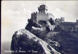 Repubblica Di San Marino - La Seconda Torre - Formato Grande Non Viaggiata – E 9 - San Marino