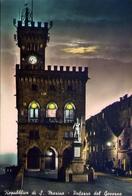 Repubblica Di San Marino - Palazzo Del Governo - Formato Grande Viaggiata Mancante Di Affrancatura – E 9 - San Marino