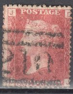 Great Britain 1858-79 - Queen Victoria, 1d Red - Mi.16 Plate 169 - Used - 1840-1901 (Victoria)