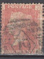 Great Britain 1858-79 - Queen Victoria, 1d Red - Mi.16 Plate 172 - Used - 1840-1901 (Victoria)
