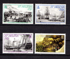 SAINT  HELENA    1990    150th  Anniv  Of  Recovery  Of  The  Body  Of  Napoleon    Set  Of   4    MNH - Saint Helena Island