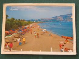 "Greece 1987 Postcard "" Zakynthos / Beach"" To England - Symbols Of Science - Greece"