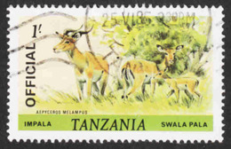 Tanzania - Scott #O33 Used (3) - Official - Tanzania (1964-...)