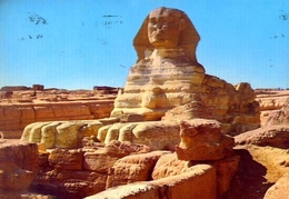 Giza - The Sphinx - Formato Grande Viaggiata – E 9 - Gizeh
