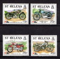SAINT  HELENA    1991    Philanippon  International  Stamp  Exhibition   Set  Of  4    MNH - Saint Helena Island
