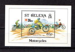 SAINT  HELENA    1991    Philanippon  International  Stamp  Exhibition   Sheetlet    MNH - Saint Helena Island