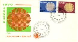 1970 - BELGIO - EUROPA - BUSTA FDC.+3 - FDC