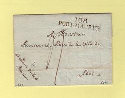 Port Maurice - 108 - 1813 - Le Maire De Port Maurice - Correspondance Incomplete - Departement Conquis De Montenotte - 1792-1815: Conquered Departments