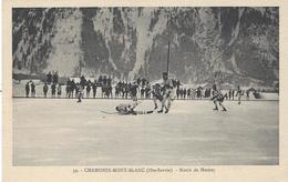 74 CHAMONIX MONT BLANC SPORTS HIVER MATCH HOCKEY SUR GLACE Editeur MONNIER PHOTO SPORT 59 - Chamonix-Mont-Blanc