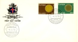 1970 - ISLANDA - EUROPA - BUSTA FDC.+3 - FDC