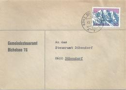 """Motiv Brief  """"Gemeindesteueramt Bichelsee TG""""            1970 - Storia Postale"""