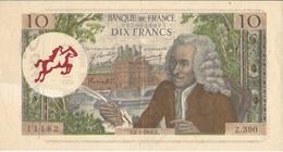 FRANCE  --  Souillac  --  10  Francs   Voltaire   -  Reproduction Publicitaire 1991 - Fictifs & Spécimens