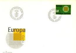 1970 - LIECHTENSTEIN - EUROPA - BUSTA FDC.+9 - Covers & Documents