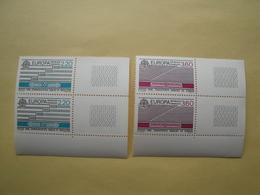 1988 France  Yv 2531/2 X 2 ** MNH - EUROPA   Cote 5.80 € Michel 2667/8 Scott 2109/10 SG 2828/9 - France