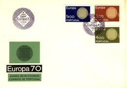 1970 - PORTOGALLO - EUROPA - BUSTA FDC.+8 - FDC