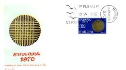 1970 - SPAGNA - EUROPA - BUSTA FDC.+7 - FDC