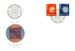 1970 - SVIZZERA - EUROPA - BUSTA FDC.+2 - FDC