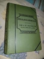 "Book 1891  Sir J D Hooker ""Himalayan Journals"" Sikkim Nepal Minerva Library 574 P Maps , Illustrations Autograph Author - Exploration/Travel"
