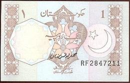 Pakistán 1 Rupee 1983 Pk 27 O Firma Mohammed Younus Khan, Serie Abajo A Derecha UNC - Pakistán