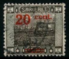 SAARGEBIET LANDS.BILD Nr 74A Gestempelt X6B257E - 1920-35 Saargebiet – Abstimmungsgebiet