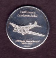 Collectible Coin, Lufthansa Liniendienst, 1932-1945, Silver K 999.9 - Münzen & Banknoten