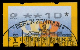 BRD ATM 1999 Nr 3-2-0010R Gestempelt X750A16 - Automatenmarken
