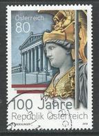 Oostenrijk, Mi 3421  Jaar 2018,   Gestempeld - 1945-.... 2ème République