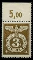 3. REICH 1943 Nr 830 Postfrisch ORA X7802FE - Allemagne