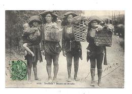 Vietnam Tonkin Mans En Route  1909 - Viêt-Nam
