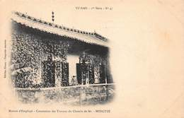 CPA YU-NAN - 1ere Série - N°47 - Maison D' Employé - Concession Des Travaux Du Chemin De Fer - MONGTZE - Cina