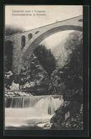 AK Most / Vintgarju, Eisenbahnbrücke In Rotwein - Slowenien