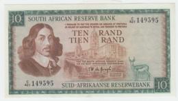 South Africa 10 Rand 1975 AUNC Pick 113c  113 C - Zuid-Afrika