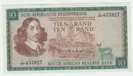 South Africa 10 Rand 1975 VF++ Pick 114c  114 C - Zuid-Afrika