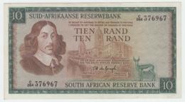 South Africa 10 Rand 1975 XF Pick 114c  114 C - Zuid-Afrika