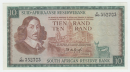 South Africa 10 Rand 1975 AUNC Pick 114c  114 C - Zuid-Afrika