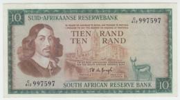 South Africa 10 Rand 1975 XF++ Pick 114c  114 C - Zuid-Afrika