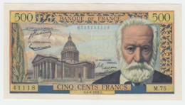 FRANCE 500 FRANCS 1955 XF Pick 133a  133 A - 1871-1952 Circulated During XXth