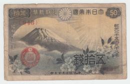 Japan 50 Sen 1938 VG Pick 58 - Japan